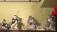 Winter Decor snowman and bears Mississauga, L4W 4R8