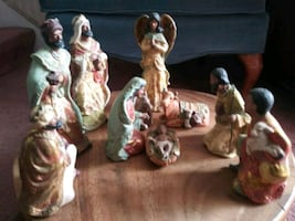 10 piece Black Nativity
