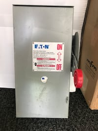 Eaton 60 amp disconnect  Anderson, 29621