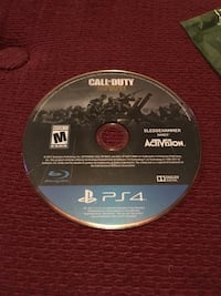 Call of Duty Worldwar 2 for PS4 (no case) Edmonton, T5Y 1S1