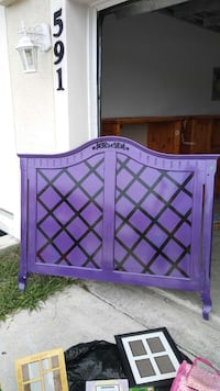 Purple Headboard for full size bed Port St. Lucie, 34983