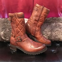 WATERPROOF LEATHER MOTORCYCLE BOOTS BY SENDRA  Herndon, 20171