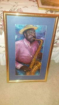 86' Russin Jazz Saxophone Player Poster  West Palm Beach, 33411