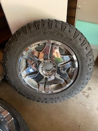 20 inch rims and tires 6 lug Sioux Falls, 57105