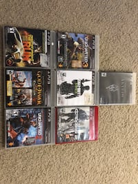 Assorted sony ps3 games lot Sunnyvale, 94086