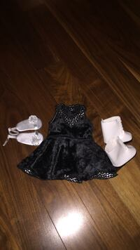 American Girl Doll Ice Skate Outfit