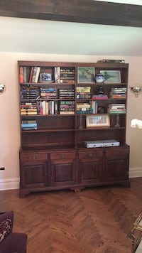 two piece  bookcase breakfront Great Neck Plaza, 11021