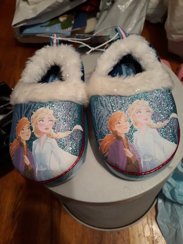 Toddler girls Frozen Slippers dc045199-b70e-408d-82a8-05808d4ff420