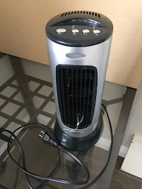 Table black/plated Fan with several functions Brampton, L6V