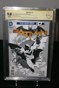 Batman #0 Sketch Variant New 52 CBCS 9.8 x2 SIGN Mississauga, L5N 7V4