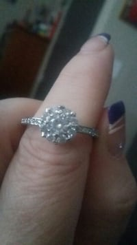 Stamped 925 silver cz diamond ring Knoxville, 37915