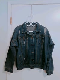 Ripped-Styled Denim Jacket Port Coquitlam, V3B 2E9