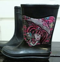 Monster High Rain Boots Los Angeles
