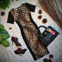 Warehouse Animal Printed Dress Small Arlington, 22207