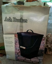Ash bucket with accessories  Ash Grove, 65604