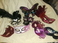 Beautiful party masks or collectors null