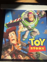 Toy story framed canvas White Rock, V4B
