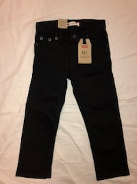 Brand new Levi's 511 black slim stretch Children's size 4T with tags never worn Livermore, 94550
