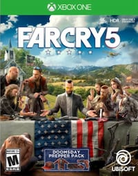 Farcry 5 ps4 and Xbox 1 unopened Mississauga