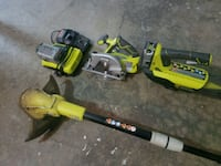 Ryobi Weed Eater, Blower and Circular Saw Fairfax Station