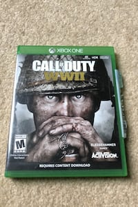 COD: WWII for Xbox One Chantilly, 20152