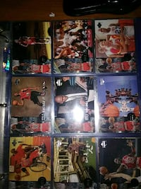 nine assorted football player trading cards Cotati, 94931