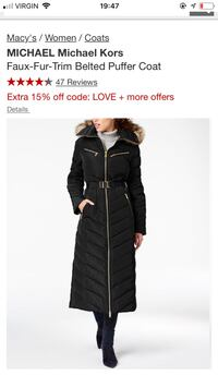 NEW Michael Kors long coat Toronto, M5G 2R2