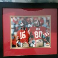 autographed photo of football player League City, 77573