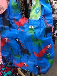 Reusable Dinosaur Shopping Bag Shoulder Bag Toronto