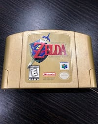 N64 Zelda:Ocarina of Time Gold Edition Edmonton, T6L 5M7
