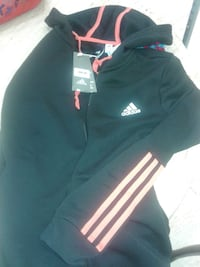 black and orange Adidas training hoodie jacket Regina, S4R 2R7