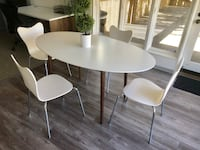 Mid Century modern table and desks plus chairs  San Diego, 92130