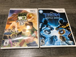 Wii games new sealed never played