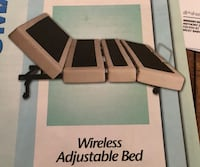 WIRELESS ADJUSTABLE BED/ MASSAGES/HAS LED UNDER BED LIGHTS/COMES WITH TWO WIRELESS REMOTES PAID $1,750 West Babylon, 11704