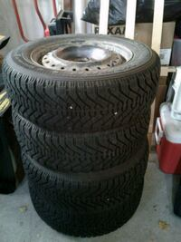 Winter rim 15 wheel and tire set 567 km
