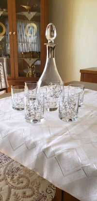 hand crafted glassware & crystal