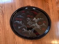 Large Maruni Tray Sterling, 20164