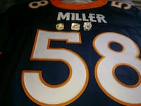 Authentic Von Miller Jersey and super bowl ring se Lakeland, 33805