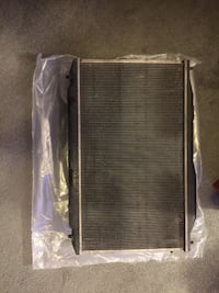 2011 honda civic radiator with fans