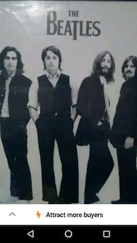 Large Beatles poster