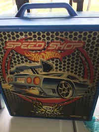Hot Wheels Speed Shop plastic case Ocala, 34473