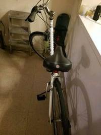 white and black hardtail mountain bike New York, 10019