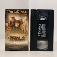 The Lord of the Rings - The Fellowship of the Ring (VHS).  Carmichael, 95608