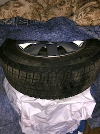 4 Winter Tires with rims (195/65/15  - Bridgestone) Toronto, M8W 1S3