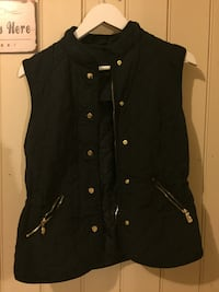 svart zip-up vest Skjeberg, 1747