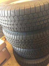 Ram 265/70/17 good year tires BrandNew come with wheels Watsonville, 95076