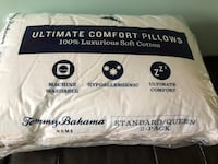 NEW- Tommy Bahama Standard/Queen 2 pack pillow Brampton, L6V 1T6