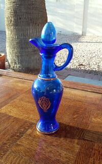 1960 Avon Genie Royal Blue Perfume Bottle  Mesa, 85206