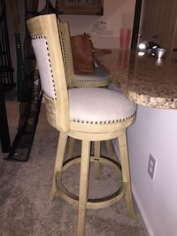 Bar height stools (2)  Fairfax, 22033