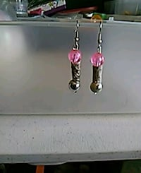 pair of silver-colored beaded accessories Dundalk, 21222